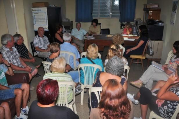 Reuniones de las Mesas de Gestión Territorial de Agosto