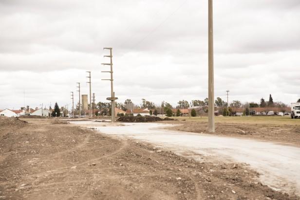 Se sigue trabajando en la construcción del Parque Avellaneda