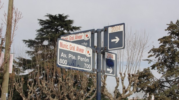 Alvear: cambio de circulación en avenidas