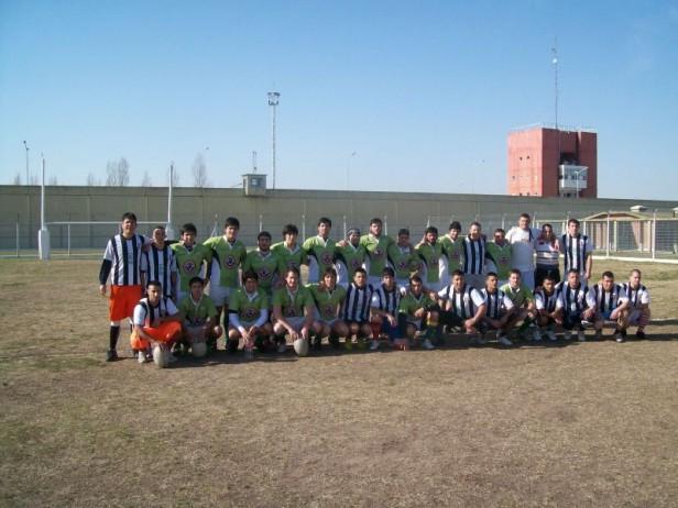 Alvear: rugby en la Unidad Penitenciaria 30
