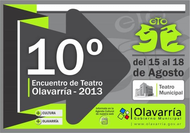 Con obras para las familias comienza el 10º Encuentro de Teatro Olavarría 2013
