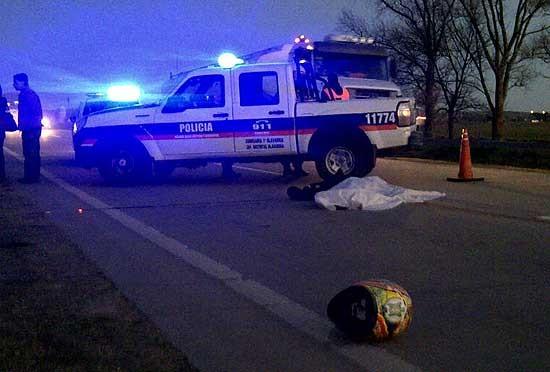 Una nueva víctima de accidente de tránsito