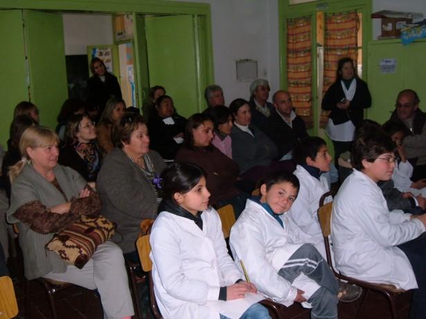 Primer taller de Agricultura Familiar en Colonia Nievas