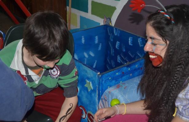 Rayuela festejó el Día del Niño con una actividad recreativa para chicos de Sierra Chica