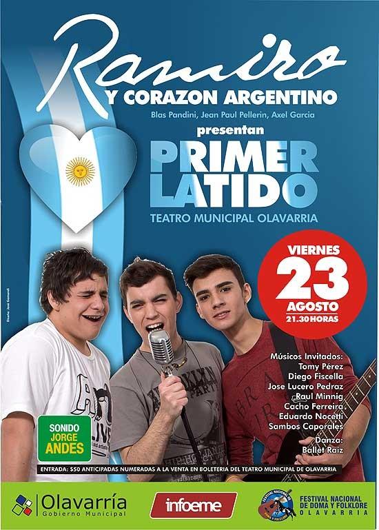 Ramiro Hittaller se presenta este viernes en el Teatro Municipal