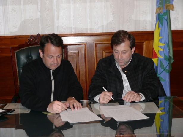 Alvear: el Intendente Cellillo firmó convenio con el Colegio de Ingenieros