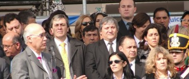 General Alvear: El intendente municipal Luis Alejandro Cellillo participo de los actos del 150º aniversario de saladillo