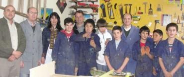 Alvear: el intendente Celillo visitó la Escuela Especial 501