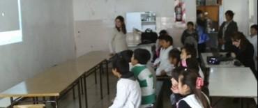 Charla informativa ambiental en la Escuela Nº 52