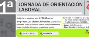 El Municipio organiza la 1º Jornada de Orientación Laboral