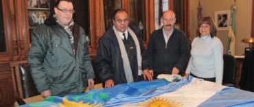Azul: apoyo al Club Deportivo El Trébol