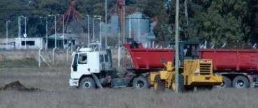 El Gobierno Municipal continúa con obras en los distintos Parques Industriales