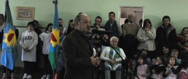 La Madrid: acto oficial  en recordación del General Don José de San Martín