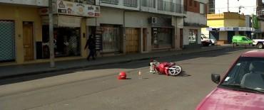 Choque moto-auto