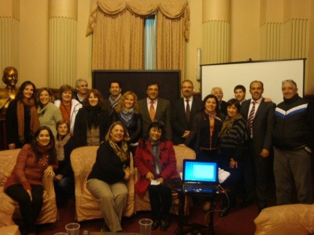 Alumnas del Curso de Taquigrafía visitaron las Cámaras del Congreso de la Nación