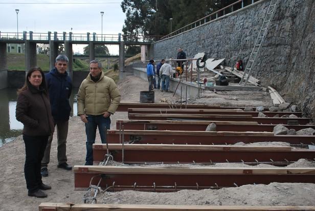 El Gobierno Municipal continúa realizando obras hidráulicas en distintos puntos de la ciudad