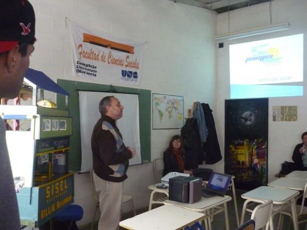 El Pampa Solar en la Unidad 38