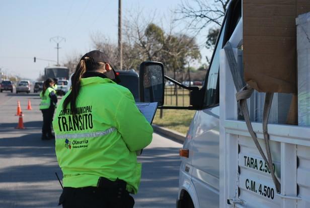 El Gobierno Municipal realiza controles de tránsito en la ciudad y las localidades