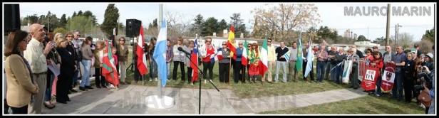 Agradecimiento de la Casa de Cultura y Turismo de Loma Negra