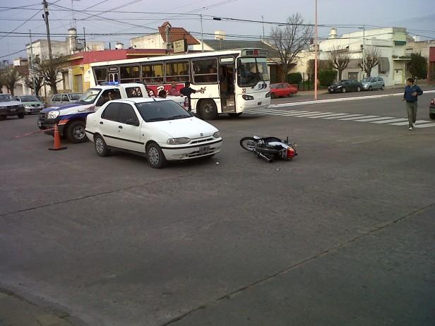 Choque auto- moto