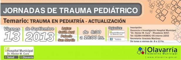 Jornadas de Actualización en Trauma Pediátrico