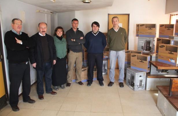 Azul: con el fin de garantizar la atención y un mejor servicio el Gobierno Municipal continúa equipando al Hospital Pintos