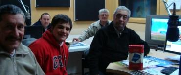 Desde el Pie recibió la visita de Oscar Alem y Ramiro Hittaller