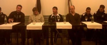 Estudiantes presentó el nuevo plantel de cara al Torneo Federal