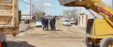 """Azul:  avanza el Plan municipal """"Transitar, 20 Barrios"""""""