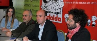 """""""El Mundo según Mafalda"""", llega al Centro Cultural Municipal """"San José"""""""