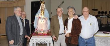 Anoche Jairo sorprendió en la cena de Monte Viggiano en Pueblo Nuevo