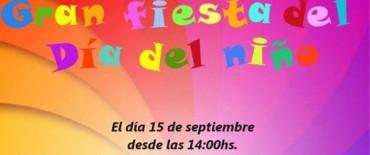 Vecinos de Villa Mailín organizan festejo del día del niño