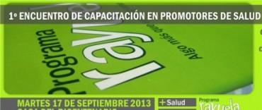 1º Encuentro de Capacitación en promotores de salud y liderazgo escolar