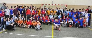Exitoso encuentro de Mini -Handball