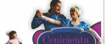 El musical de Cenicienta con olavarrienses se presenta en el Teatro Municipal