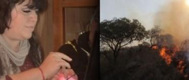 """Incendios en el centro del país: """"la imagen es impactante"""""""
