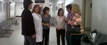 """Autoridades de salud municipales visitaron el Hospital de Niños """"Ricardo Gutiérrez"""""""
