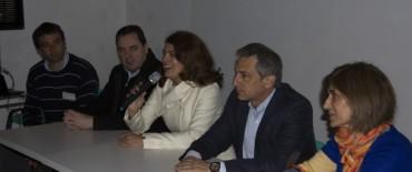 Eseverri y Szelagowski dejaron inauguradas las III Jornadas Provinciales de Centros de Mediación