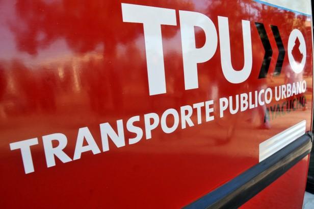 Ayacucho vuelve a tener transporte público urbano