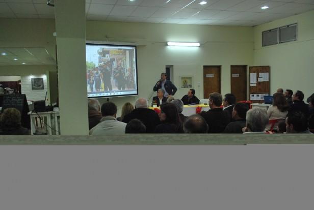 Las propuestas de Seguridad del Frente Renovador fueron presentadas en la Sección