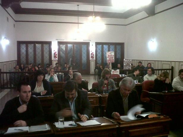Concejo Deliberante: extensa sesión con el veto como protagonista