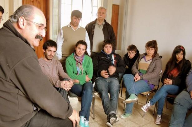 El diputado Radical Aldo Mensi pasó por Olavarría
