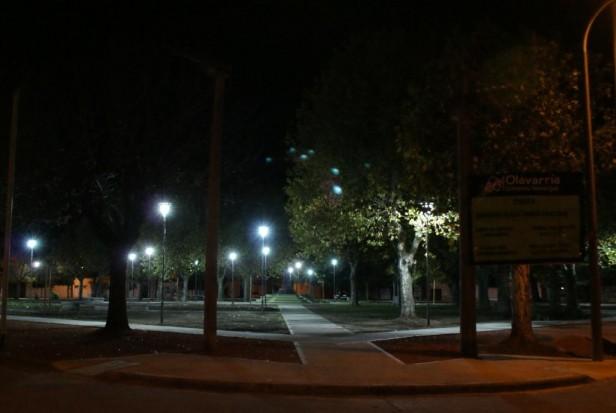 Se invirtieron más de 15 millones de pesos en iluminación en el último año