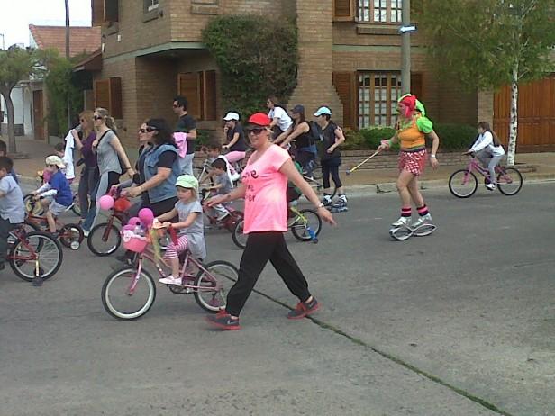 """Bicicleteada del Jardín 901 """" Luciano Fortabat"""""""