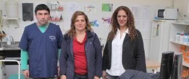 Hospital Pintos de Azul : nueva indumentaria para el personal y más aparatología