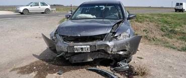 Accidente en la Ruta 226: dos heridos