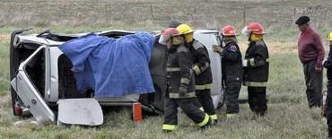 Otro accidente en ruta 226 rumbo a Bolívar