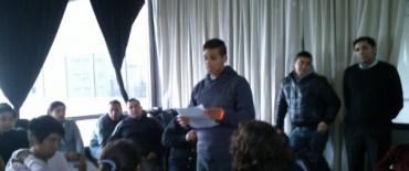 Alumno de la escuela Media Nº 5 participó del II Parlamento Provincial   Juvenil del Mercosur