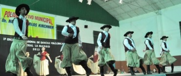 Se realizó el primer Encuentro Regional de Danzas Folklóricas en General La Madrid
