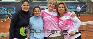 El abierto de tenis en La Pedrera se reinicia este martes